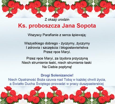 Internetowe życzenia Wwwizydor Radlinkatowiceopokaorgpl